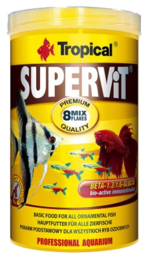 Tropical - Supervit basic flingor 500ml/100g
