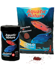 Aquatic Nature -  Afr-Cichlid Excel Color M 1kg