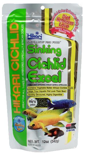 Hikari - Sinking Ciklid Excel Mini 342g