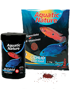 Aquatic Nature - Afr.Cichlid Excel Color M 130g