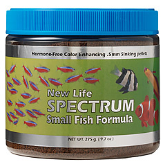 New Life Spectrum - Small fish formula 120g