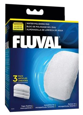Fluval - Filtermatta fin 104-206 3pack