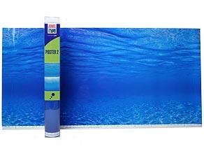 Juwel - 2-sidig Blått hav 60x30cm